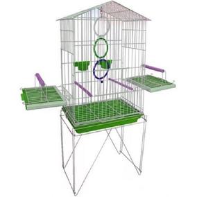 Acessórios Pássaros Mansos Gaiola Calopsita 2 Pote Ração