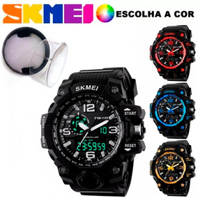 c7cf517518f Relógio Masculino Esportivo Skmei 1155 Estilo G-shock 5 Atm