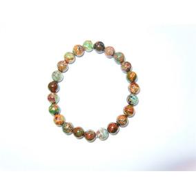 Pulsera En Piedra Natural Wood Opal 8 Mm