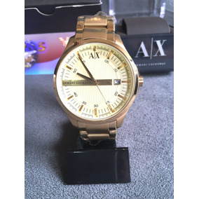 21ad7f41cab Relógio Armani Exchange Dourado Frete Grátis - Relógio Armani ...
