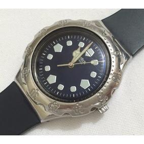 209ee4c014c Relógio De Pulso Feminino Swatch Swiss Preto Original