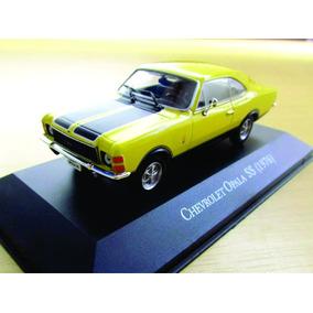 Miniatura Opala Chevrolet Amarelo 1:43 Coleção Inesqueciveis