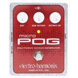 Pedal Electro Harmonix Micro Pog Octavador Cuotas