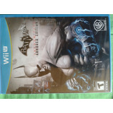 Batman Arkham City Armored Edition Wii U