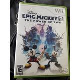 Epick Mickey Con Super Mario Wii