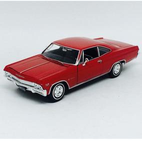 Chevrolet Impala Ss 396 Vermelho - Welly
