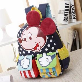 Mochila Escolar Infantil Mickey Disney Minie Minnie Linda