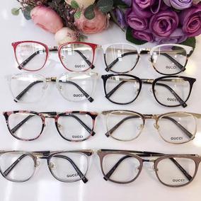 Armação De Óculos Redonda Em Acetato Para Colocar Grau - Óculos no ... ee8c88412e