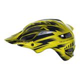 Capacete Ciclismo Bike Bicicleta Troy Lee A1 Cyclops Gold
