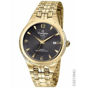 Relógio Champion Social Ca21384u Dourado - Original