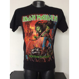 78a6b122b3 Camiseta Iron Maiden From Fear To Eternity Rock Metal Anime