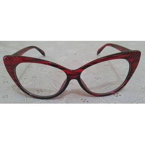 Armacao De Grau Gatinho Oncinha Retro Cat Eye - Óculos no Mercado ... e73fa5f691