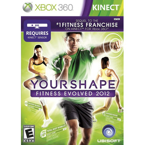 Your Shape Fitness Evolved 2012 Kinect Xbox360 Original Ntsc