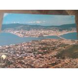 Cartão Postal Antigo Florianópolis Santa Catarina Ponte Herc