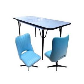 Jogo De Cozinha Vintage (mesa E Cadeiras)