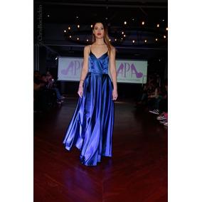 Vestidos de egresados azul francia