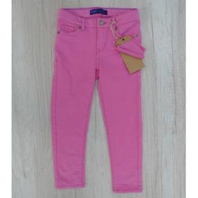 Pantalón Rosa Strech Con Bolsas Gap Levis Ajustador