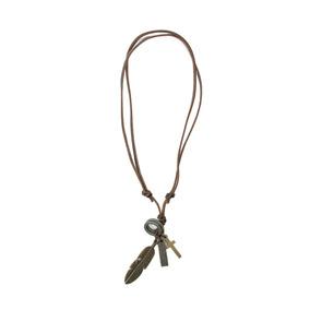 Collar Synergy De Caballero Marron Oscuro Hacc01-cc12