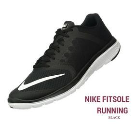 promo code 2cb2b ccd92 Zapatillas Nike Running Fitsole Negrablanca Hombre Original