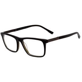 8bf3c3cea147e Bulget Bg 6245 - Óculos De Grau H01 Preto Brilho E Verde Tra