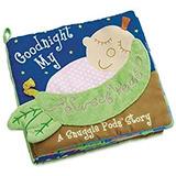 Manhattan Juguete Snuggle Pods Goodnight My Sweet Pea Book