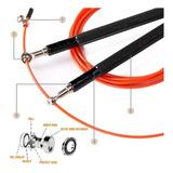 Corda De Pular Crossfit Speed Rope Rolamento Circular
