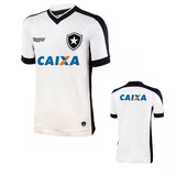 Camisa Do Botafogo Branca Com Patrocínio Com Seu Nome Person 44c29eff2b026