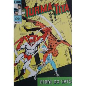 Turma Titã #41 Ebal 1972 O Herói 4a Série Loja De Coleções