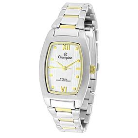 93c31d85d1f Relógio Champion Ca21660s Misto Quadrado Feminino - Relógios no ...