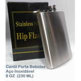 Cantil Inox 8 Oz (230 Ml) Kit Com 3