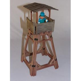 Playmobil Veho Oeste - Torre De Vigilância Do Forte - Raro