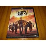 Dvd Star Wars Han Solo (nuevo Y Sellado) Español Latino