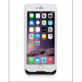 Funda Cargador Para iPhone 6 Plus/ 6 S Plus Blanca 4500mah