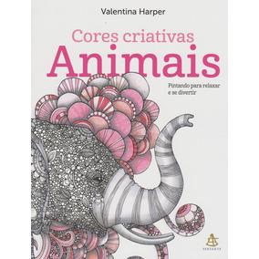Animais Livro De Colorir Valentina Harper Frete 9