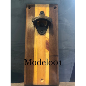 Abridor De Garrafa De Madeira Modelo Personalizado