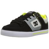 Hombre Zapato Action Gris Lim De Verde Para Dc Skate Pure x44aCYBqSw