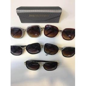 Óculos De Sol Feminino Lentes Com Proteção Modelo Mulher Vip 925680a900