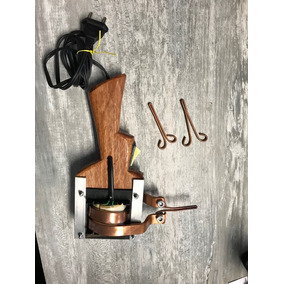 Ferro Estanhador Pistola Cabo De Madeira 750wts 110v