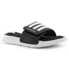sale retailer 58d20 dd09d Chinelas Superstar Slides Negro adidas