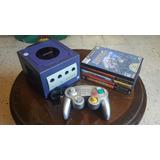 Vendo Game Cube + 1 Control + 5 Juegos