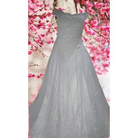 Vestido De Noiva Modelo Princesa Com Cauda - Maneq 36 A 40