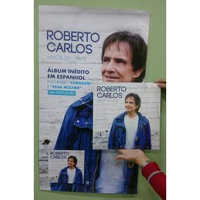 Vinil Lp Roberto Carlos Amor Sin Limite Poster + Cd + Lp