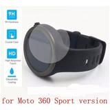 3 X Películas Vidro Relógio Moto 360 Sport 2ª Geração 42mm