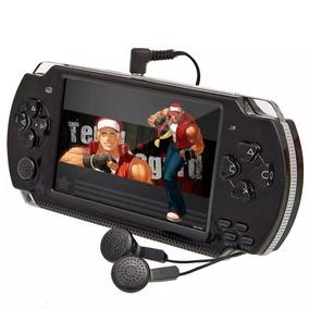 Mini Game Nova Portátil 10mil Jogos Player Mp3 Mp4 Mp5