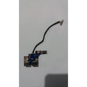 Placa Usb Power Button Samsung Np275e4e Frete Grátis