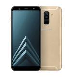 Celular Samsung Galaxy A6+ 2018 Dourado 4gb 64gb Tela 6.0