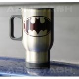 Termo Para Cafe Batman Personalizable Con Tu Nombre