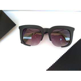 6dc12672c69bc Óculos De Sol Feminino Clássico Rasoir Fosco + Brinde