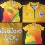 99dadf6915 Camisa Jogos Olímpicos Rio 2016 Tam P (70x48) Otimo Estado