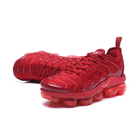 Tênis Nike Air Vapormax Plus Preto Rosa E Solado Colorido